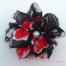 Large Fluffy Georgette Brooch