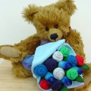 Large Baby Boy Traditional Sock Rose Bouquet