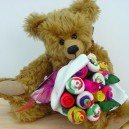 Large Baby Girl Funky Sock Rose Bouquet