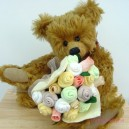 XXL Neutral Baby Pastel Sock Rose Bouquet