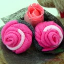Pink Sock Rose Buds