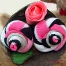 Union Jack Sock Rose Buds