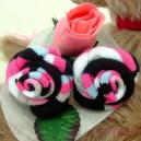 Stripey Sock Rose Buds
