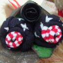 Stars and Stripes Sock Rose Buds