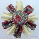 Medium Vintage Flower Brooch